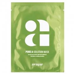 Avajar Pore A-Solution Mask - Маска тканевая для проблемной кожи с расширенными порами 1 шт