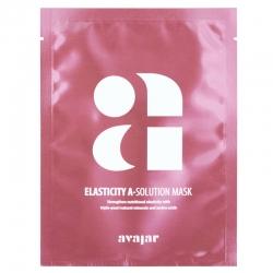 Avajar Elasticity A-Solution Mask - Маска тканевая для повышения эластичности кожи 1 шт