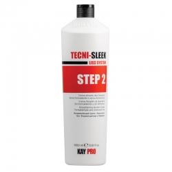 Kaypro Tecni-Sleek - Выпрямляющий крем с кератином, Шаг 2, 1000 мл