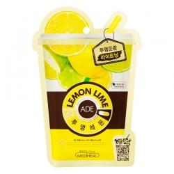 Mediheal Lemon Ade Mask - Маска для лица освежающая витаминная, 25 мл