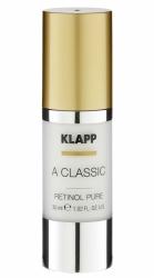 Klapp A Classic Retinol Pure - Сыворотка Чистый ретинол для упругости кожи, 30 мл
