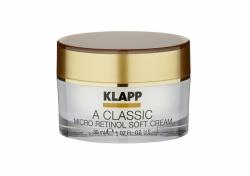 Klapp A Classic Micro Retinol Soft Cream - Крем-флюид Микроретинол с витаминами, 30 мл