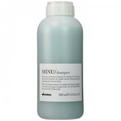 Davines Minu Shampoo - Защитный шампунь для сохранения косметического цвета волос, 1000 мл