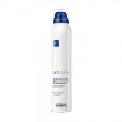 L'Oreal Professionnel Serioxyl Volumizing coloured spray grey -  Сериоксил Спрей-камуфляж для волос (серый) 200 мл
