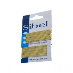 Sibel - Невидимки медно-бежевые 50мм 24шт