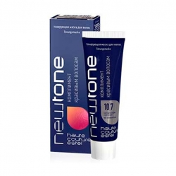 Estel NewTone mini - Тонирующая маска для волос 10/7 (Светлый блондин коричневый), 60 мл