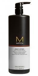 Paul Mitchell Mitch Heavy Hitter - Интенсивно очищающий шампунь, 1000 мл
