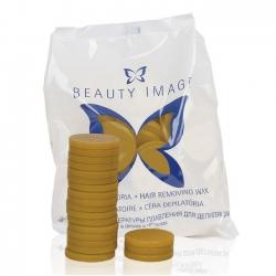 Beauty Image - Воск горячий Жёлтый натуральный (в дисках), 1000 г