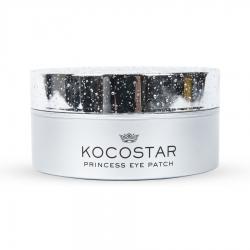 Kocostar Princess Eye Patch (Silver) Single - Гидрогелевые патчи для глаз Серебряные (60 шт/ 30 пар), 90г