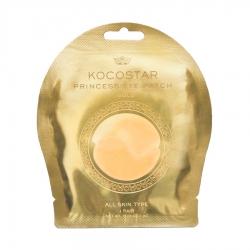 Kocostar Princess Eye Patch (Gold) - Гидрогелевые патчи для глаз Золотые (1 пара), 3г