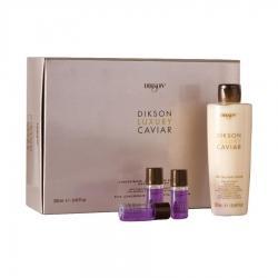 Dikson Luxury Caviar - Ампульный комплекс + ревитализирующий крем с Complexe Caviar, 8 х 10мл