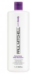 Paul Mitchell Extra-Body Daily Shampoo - Объемообразующий шампунь для тонких волос 1000 мл