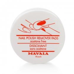 Mavala Nail Polish Remover Pads - Салфетки для снятия лака, 30 шт