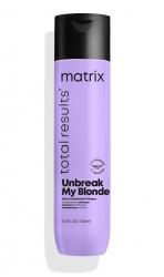 Matrix Total Results Unbreak My Blonde Shampoo - Шампунь без сульфатов для осветленных волос 300 мл