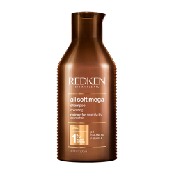 Redken All Soft Mega Shampoo - Шампунь с питательным комплексом, 300 мл