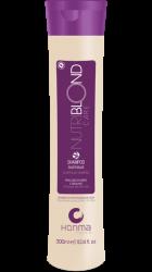 Honma Tokyo Nutriblond Solution - Увлажняющий шампунь для светлых и седых волос, 300 мл