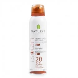 Nature's Sun - Солнцезащитный спрей SPF 20, UVA-UVB-IR, 150 мл