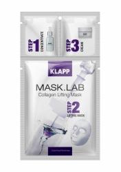 Klapp MASK.LAB Collagen Lifting Mask - Маска омолаживающая с коллагеном, набор