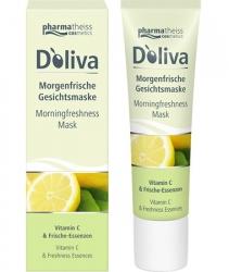 Doliva - Утренняя освежающая маска для лица с витаминами А, С и Е, 30 мл