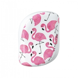 Tangle Teezer Compact Styler Skinny Dip White/Pink - Расческа для волос