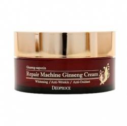 Deoproce Multi-Function Repair Machine Ginseng Cream - Многофункциональный восстанавливающий крем с женьшенем, 100 мл