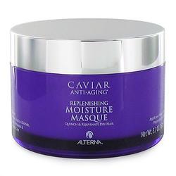 Alterna Caviar Anti-Aging Replenishing Moisture Masque - Увлажняющая маска для волос с экстрактом черной икры и морским шёлком, 161 г