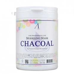 Anskin Charcoal Modeling Mask - Маска альгинатная для жирной кожи с расширенными порами, 700 мл