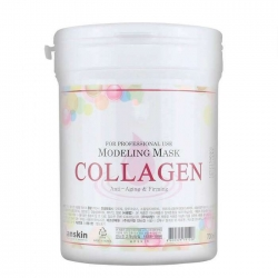 Anskin Collagen Modeling Mask - Маска альгинатная с коллагеном укрепляющая, 700 мл