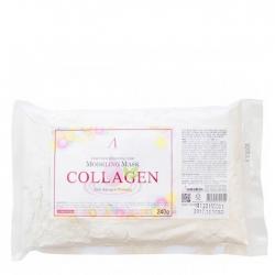 Anskin Collagen Modeling Mask - Маска альгинатная с коллагеном укрепляющая (пакет), 240гр