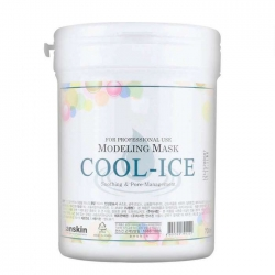 Anskin Cool-Ice Modeling Mask - Маска альгинатная с охлаждающим и успокаивающим эффектом, 700 мл