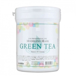 Anskin Grean Tea Modeling Mask - Маска альгинатная с экстрактом зеленого чая, 700 мл