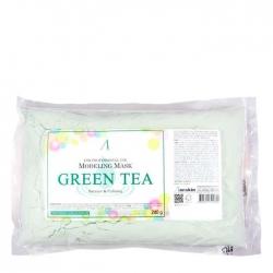 Anskin Grean Tea Modeling Mask - Маска альгинатная с экстрактом зеленого чая, 240 г