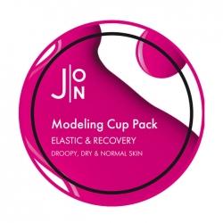 J:ON Elastic & Recovery Modeling Pack - Альгинатная маска для эластичности и восстановления кожи лица 18 мл
