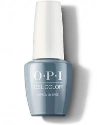 OPI Peru Gel Color - Гель-Лак для ногтей Alpaca My Bags, 15 мл