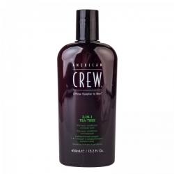 American Crew Tea Tree 3-In-1 - Средство для волос 3 в 1, чайное дерево 100 мл