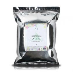 Anskin Aloe Modeling Mask - Маска альгинатная с экстрактом алоэ успокаивающая, 1 кг