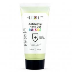 MIXIT Antibacterial Hand Gel for KIDS - Детский антисептический гель для рук, 60 мл