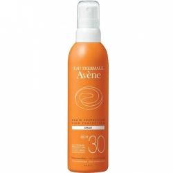 Avene Soins Solaires - Солнцезащитный спрей SPF 30, 200 мл