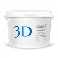 Medical Collagene 3D Aqua Balance - Альгинатная маска для обезвоженной кожи со сниженным тургором, 1200 г