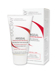 Ducray Argeal - Аржеаль Себоабсорбирующий шампунь для жирных волос, 150 мл