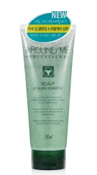 Welcos Around Me Professional Scalp Scaling Shampoo - Шампунь-скраб для волос и кожи головы отшелушивающий, 230 мл