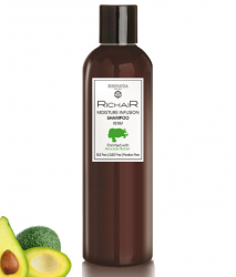 Egomania Richair moisture infusion shampoo avocado butter - Шампунь интенсивное увлажнение с маслом авокадо, 400 мл