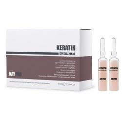 Kaypro Keratin special care - Лосьон восстанавливающий с кератином, 12х10 мл