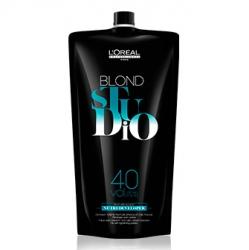 L'oreal professionnel blond studio platinium: нутри-проявитель лореаль платиниум 12%, 1000 мл