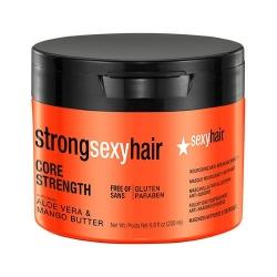 Sexy Hair Core Strength Nourishing Anti-Breakage Masque - Маска восстанавливающая для прочности волос, 200 мл