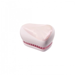 Tangle Teezer Compact Styler Smashed Holo Pink - Расческа розовый/белый