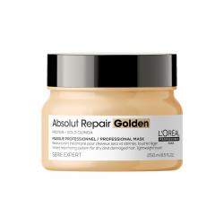 L'Oreal Professionnel Absolut Repair Gold Quinoa+Protein Golden Masque РЕНО — Маска с золотой текстурой для восстановления волос 250 мл
