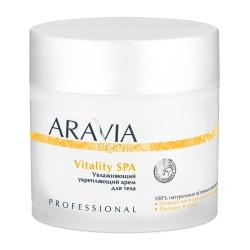Aravia Professional Organic - Увлажняющий укрепляющий крем для тела Vitality SPA, 300 мл