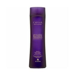 Alterna Caviar Anti-aging Blonde Shampoo - Шампунь с морским шелком для светлых волос, 250 мл
