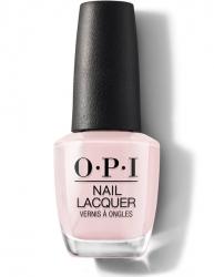 OPI Always Bare for You - Лак для ногтей Baby, Take a Vow — молочно розовый оттенок, 15 мл